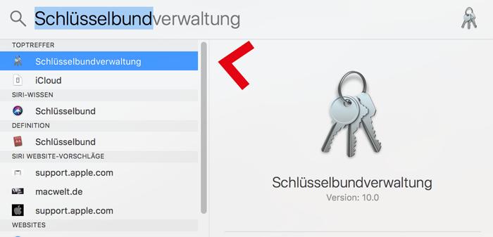 screenshot qualicura schlüsselbundverwaltung
