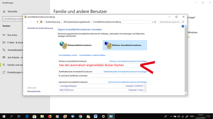 screenshot qualicura schlüsselbund windows